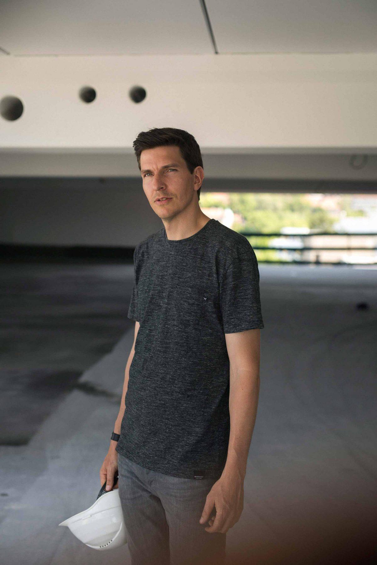Markus vom Team der Bermüller+Niemeyer Architekturwerkstatt.