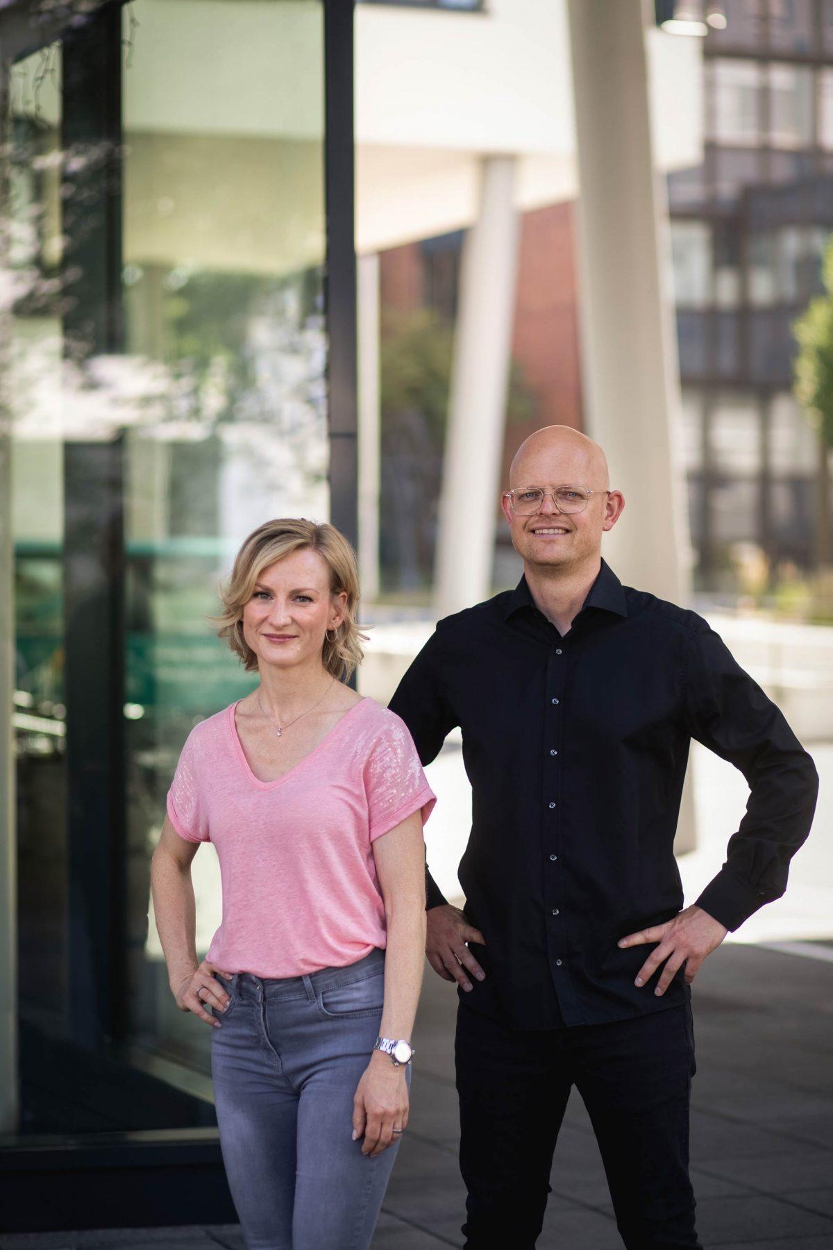Sophie Bermüller mit Matthias Niemeyer