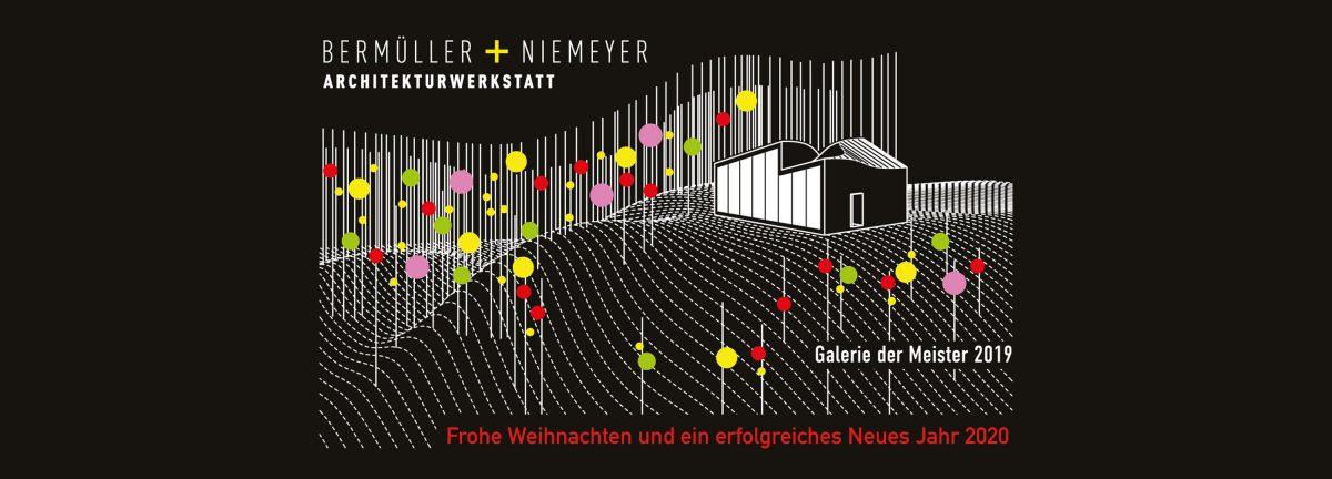 Das Bermüller+Niemeyer Team wünscht frohe Weihnachten und ein erfolgreiches Jahr 2020.