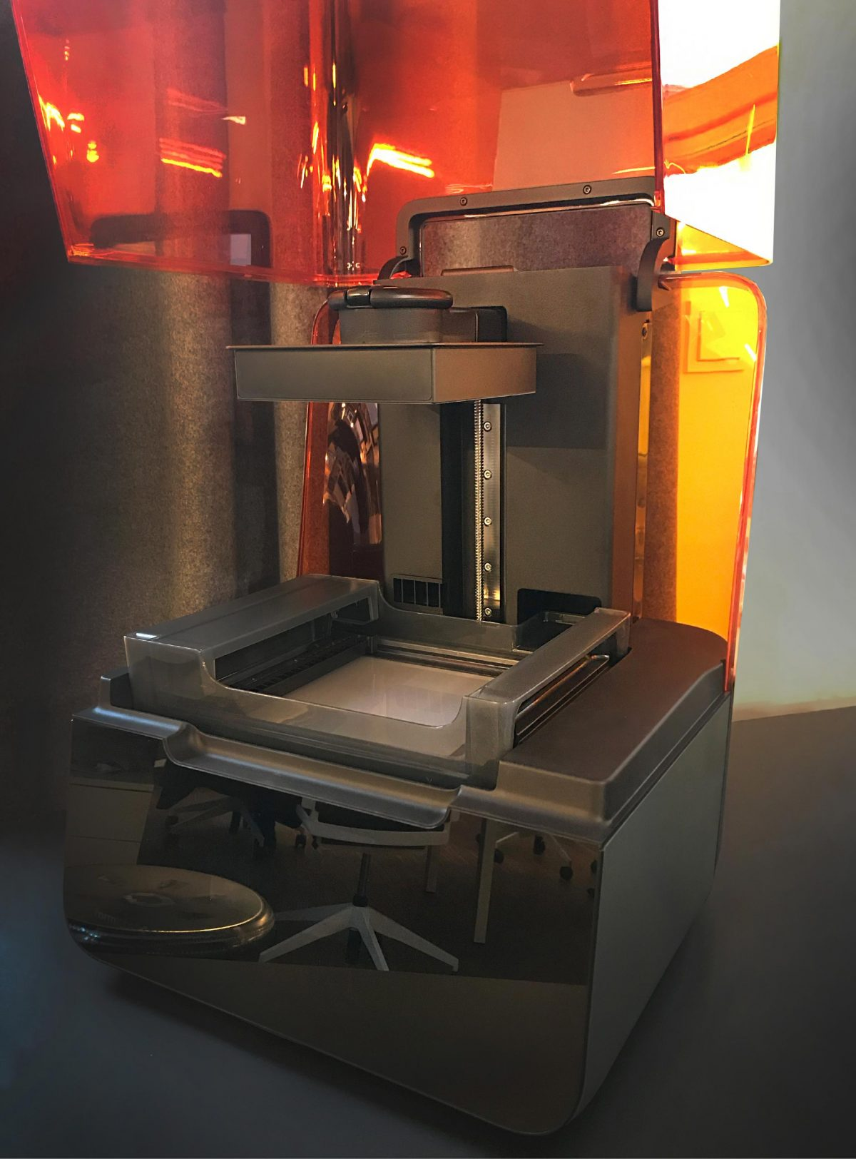 Unser neuer 3-D Drucker in der Bermüller+Niemeyer Architekturwerkstatt in Nürnberg.
