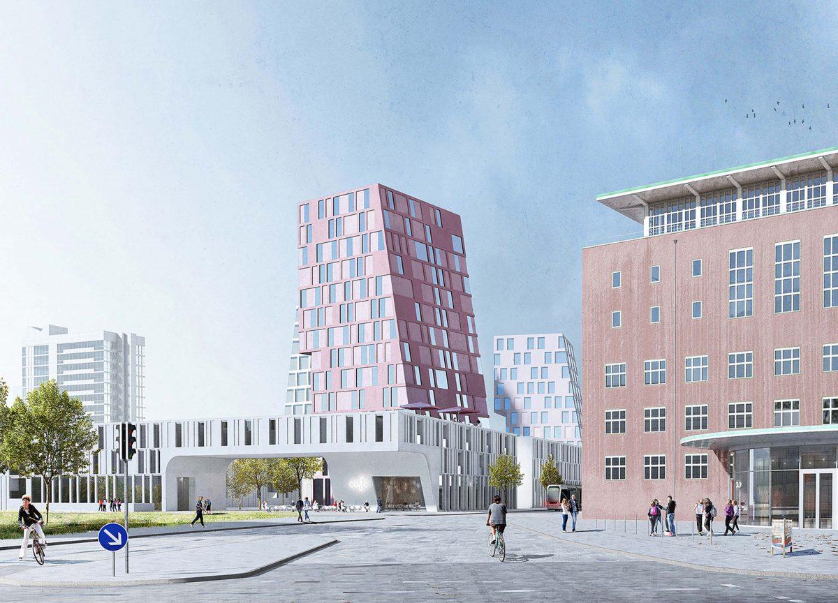 Die Bermüller+Niemeyer Architekturwerkstatt freut sich über die Anerkennung beim Wettbewerb in der Sieboldstrasse in Erlangen.