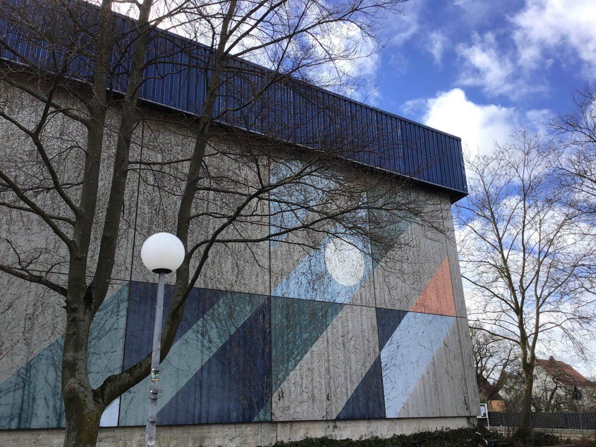 Das Team von Bermüller-Niemeyer wurde für ein neues Konzept für die Turnhalle des Gymnasiums von Oberasbach beauftragt.