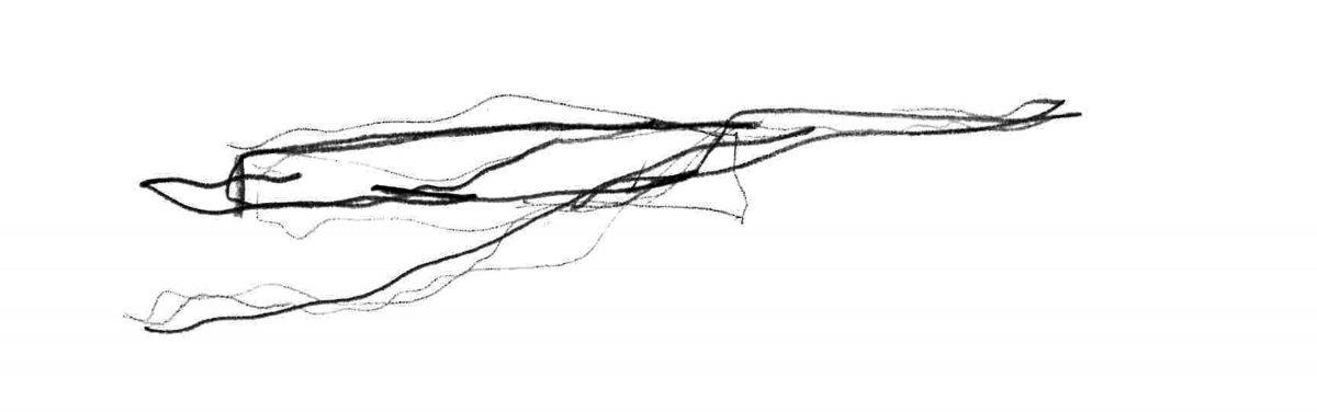 Entwurfsskizze für das Haus am See von Matthias Niemeyer.
